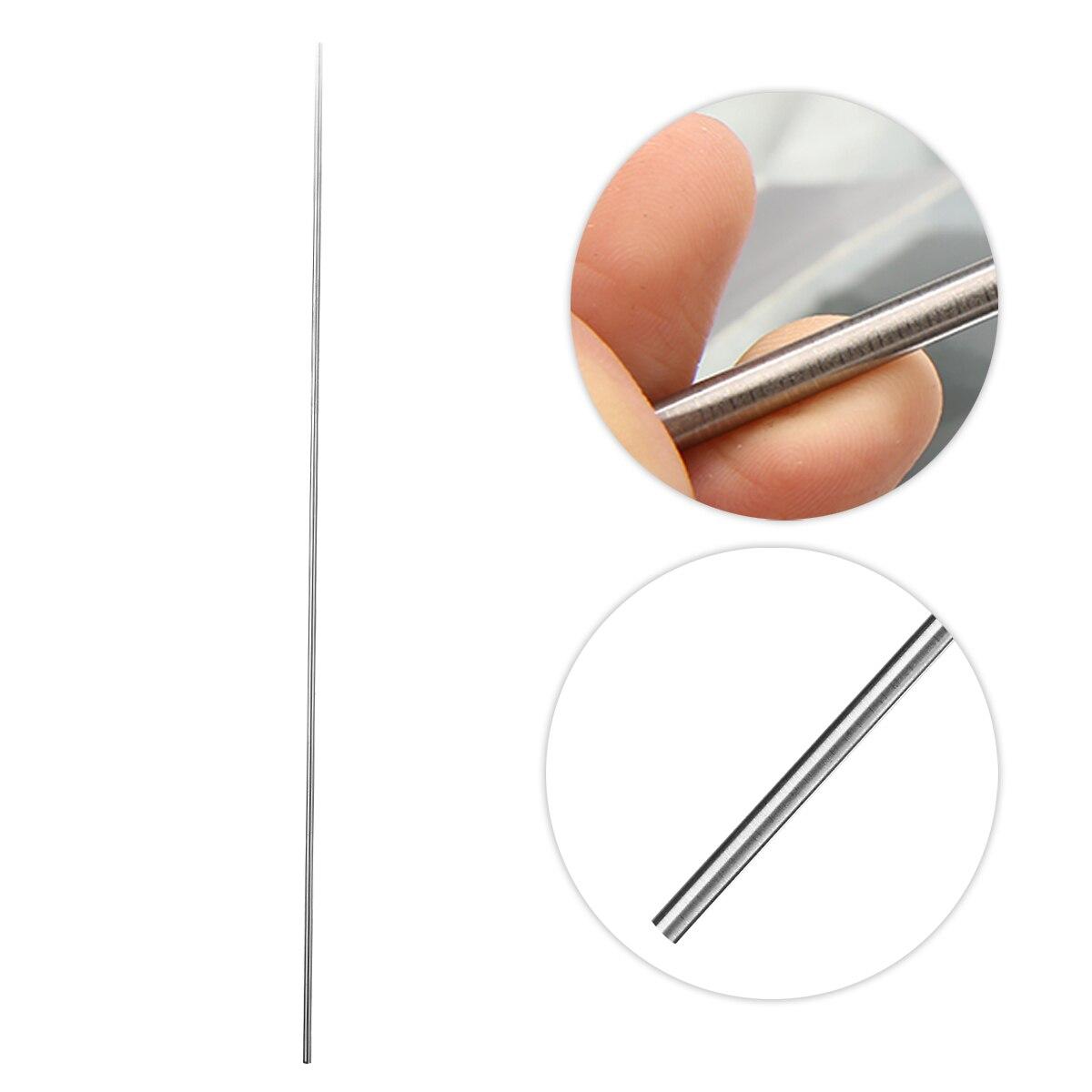 1Pcs Grade 5 GR5 Titanium Rod Ti Bar Metal Rod Stick Welding Tool 50cmx4mm With Corrosion Resistance