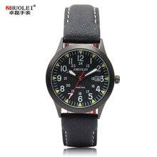 2014 nouvelle Zhuolei Mens Quartz montres hommes montre Sport étanche montres Dropship Hot vente 3 couleurs