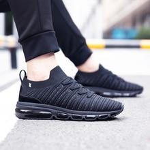 ONEMIX 2018 off black sports shoes men sneakers air cushion