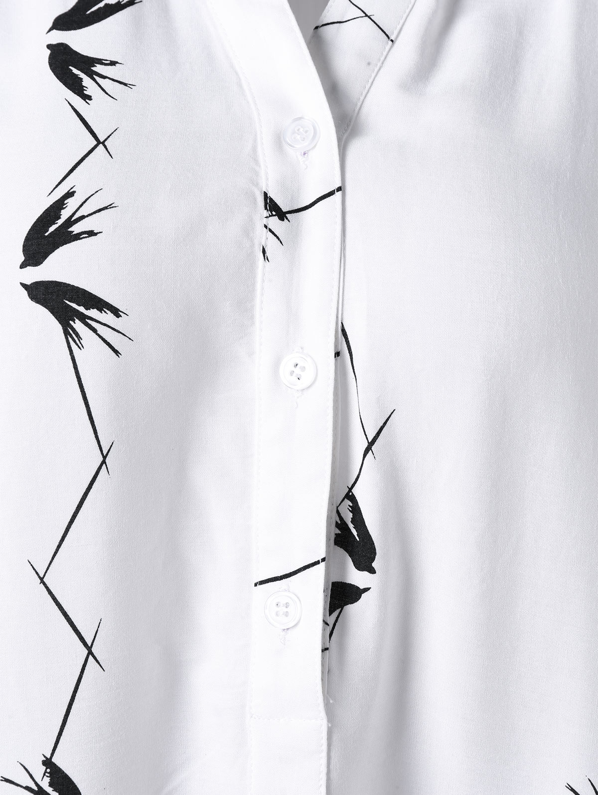 349c74ce867 GAMISS Women Summer 2018 Plus Size 5XL Sleeveless Graphic Longline Blouse  Button Monochrome Ladies Long Tops Women Clothing-in Blouses   Shirts from  Women s ...