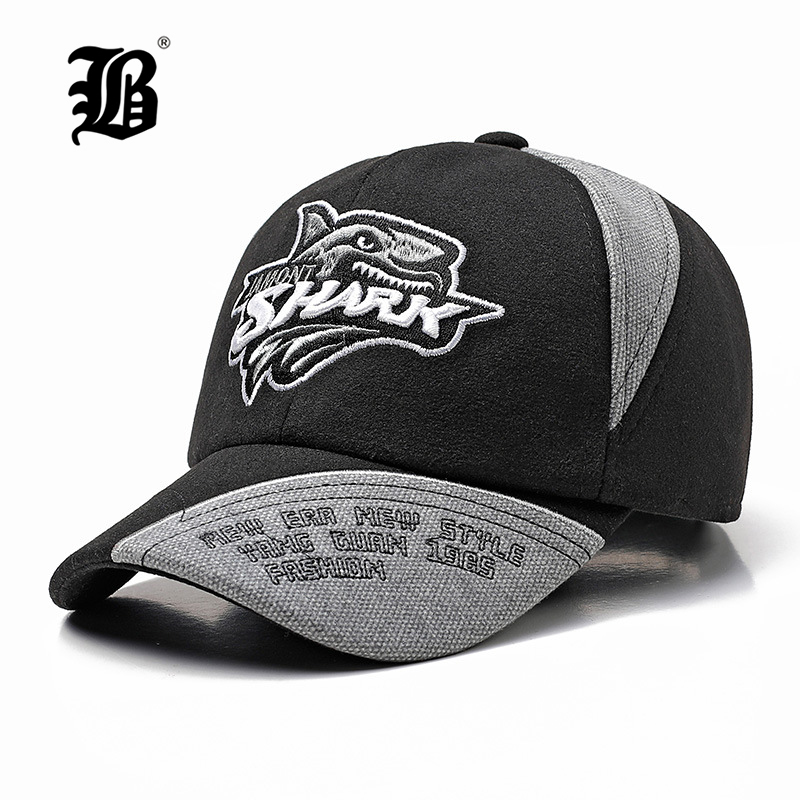 [FLB] Kids Cotton Linen Baseball Caps For Boys Girls Outdoor Sun Hats Shark Letter Adjustable Casual Children Sports Cap F180