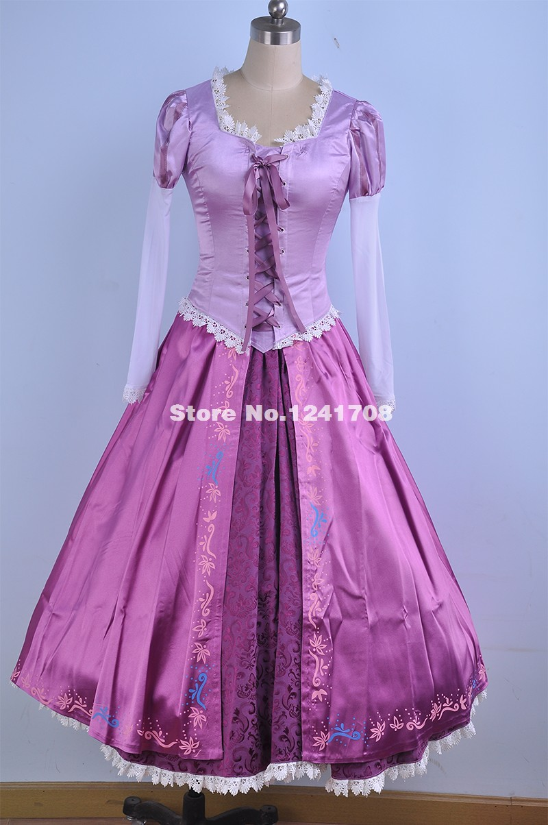 tangled dress adult reviews online shopping tangled dress adult reviews on. Black Bedroom Furniture Sets. Home Design Ideas