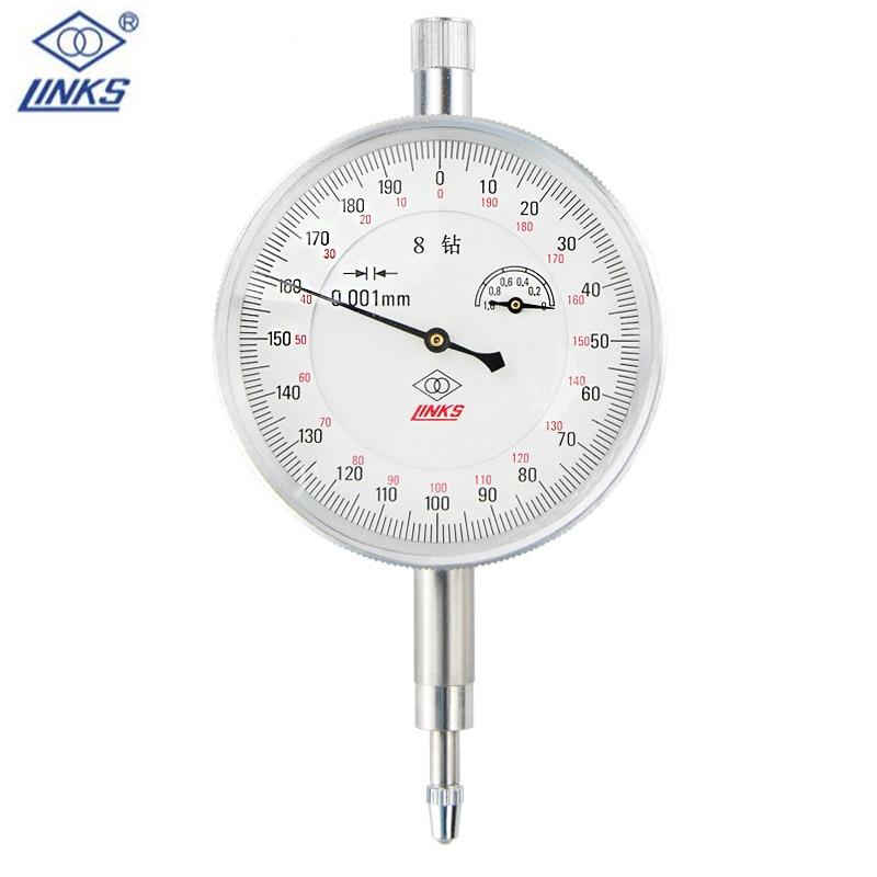 0 1mm 0 001mm Dial Indicator Shockproof Dial test gauge micrometer font b caliper b font