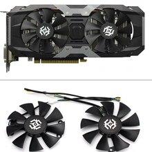 חדש 85mm 4Pin Cooler מאוורר להחליף עבור ZOTAC GTX1060 6 GB GTX1050 מאוורר GTX1050Ti GTX 1060 כרטיס מסך קירור מאוורר
