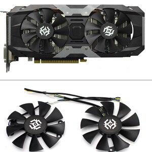 Image 1 - Nova 85mm 4Pin Ventilador Cooler Fan Substituir Para ZOTAC GTX1060 6 GB GTX1050 GTX1050Ti GTX 1060 Placa Gráfica Arrefecimento fã