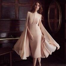 Vestidos Sleeve Dress O-Neck
