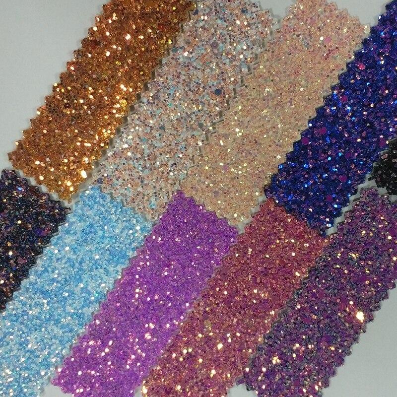 DERUN GLITTER Textile Wallpaper Glitter Wallcovering For Room Wallpaper 30m*138cm One Roll Chunky Glitter Fabric Wallpaper