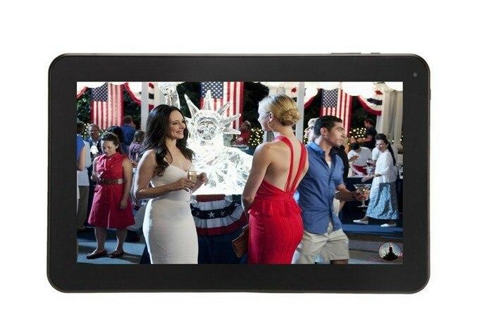 Vente en gros-10.1 pouces Allwinner A20 Dual Core 1.2 Android 4.2 1 GB RAM 8 GB ROM tablette PC écran tactile capacitif hdmi Wifi Webcam - 2