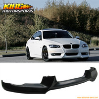 For 2007 2010 BMW E92 335 330 Urethane Front Bumper Lip Spoiler