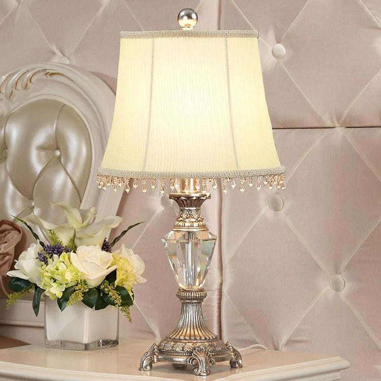 Top Desk Lamps Crystal Table Lamp Bedroom Bedside Lamp