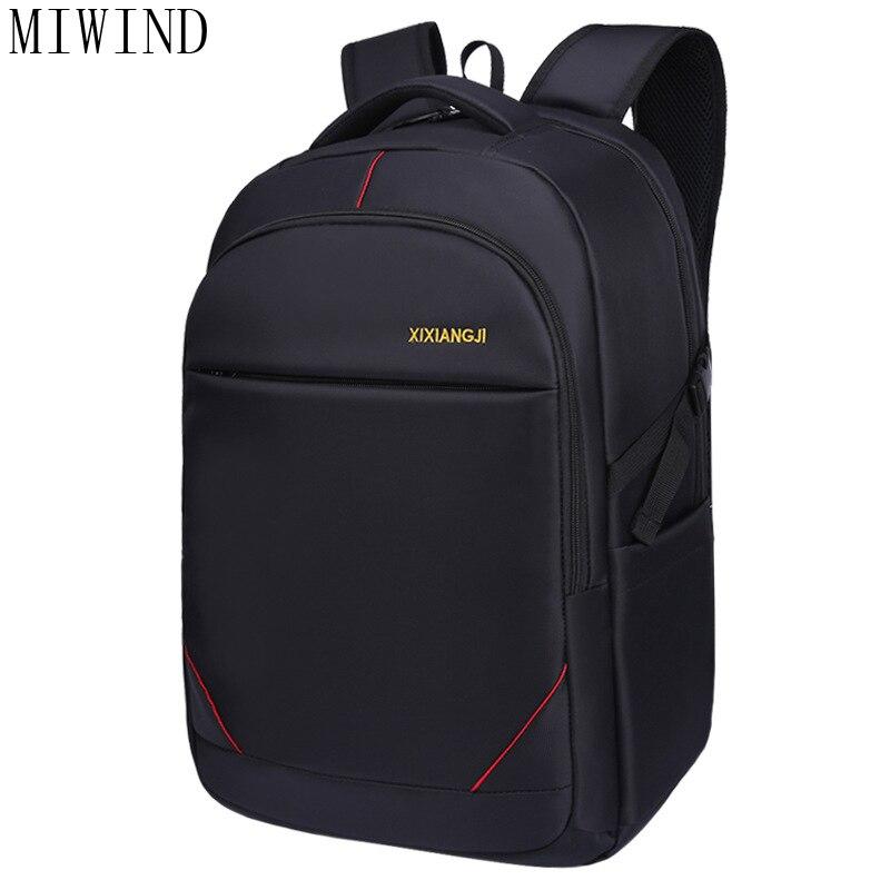 MIWIND Waterproof Nylon Laptop Backpack Leisure School Backpacks Bags mens backpack bag school bags for teenagersTXX951 miwind laptop backpack men multifunction school bags waterproof nylon backpacks for teenagers casual travel backpack txh1141
