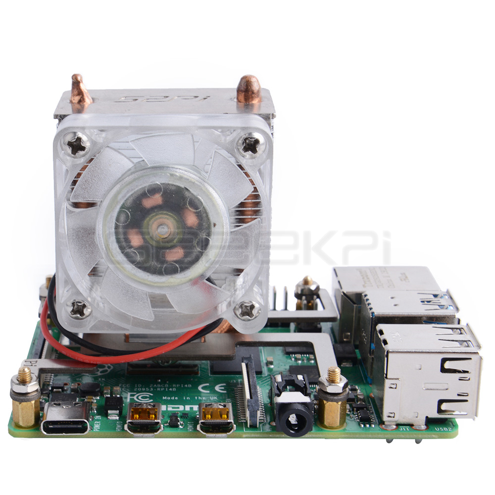 Details about In Stock! 52Pi original ICE Tower CPU Cooling Fan for  Raspberry Pi 4B/3B/3B+