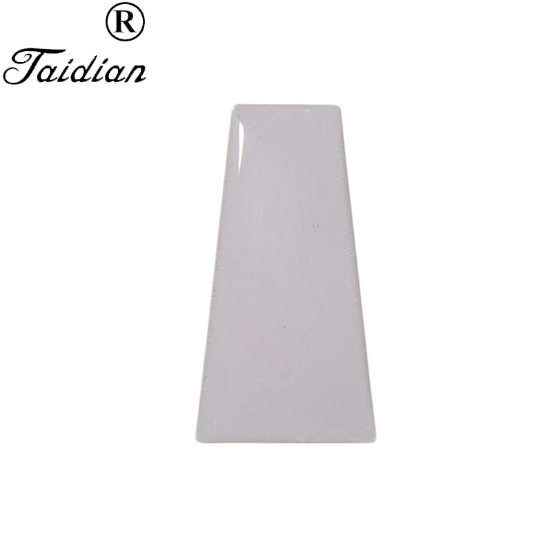 Trapezoid Shape Transparent 3D Epoxy Domes Resin Stickers