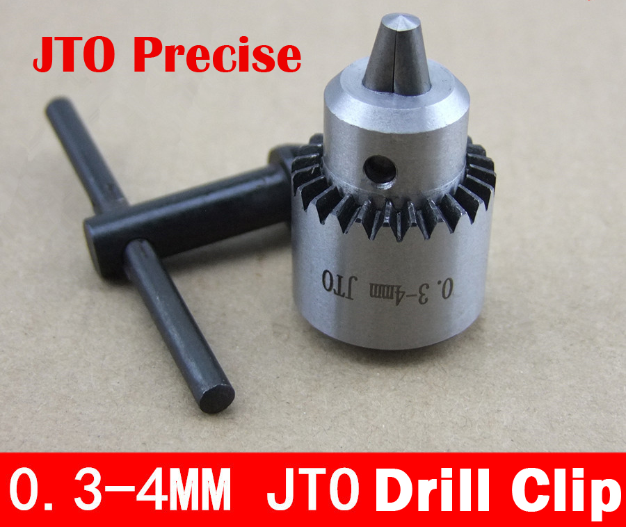 JT0 0.3mm-4mm Precise Bit Clip Drill Chuck Adjustable Bit Chuck