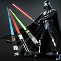 1pc/Lot Star Wars Action Figures Lightsaber LED Flashing Light Sword Toy Cosplay Weapons Red/Blue/Green Sabers Kids Toys 78cm