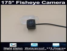 175 Degree 1080P Reverse Camera Parking Car Rear view Camera for Ford Focus 2007 2008 2009 2010 2011 2012 Fiesta 2007 -2011