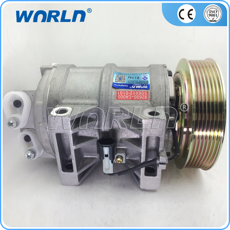 Auto Replacement Parts Air-conditioning Installation Brave Auto A/c Compressor For Nissan Urvan Box 2000-2012 3.0 92600-vw200/92610vw200/5060120170/comp001