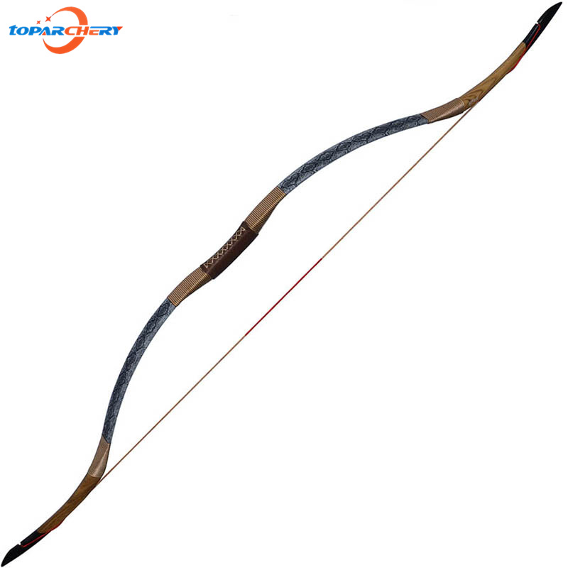 Traditional Handmade Recurve Bow Longbow 30lbs 35lbs 40lbs for Bamboo Wooden Fiberglass Archery Arrows Hunting Shooting Practice стоимость