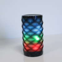Colorful Night Light Bluetooth Speaker Wireless Mini Mobile Phone Subwoofer Outdoor Home Bathroom Speaker Hands Free Speake