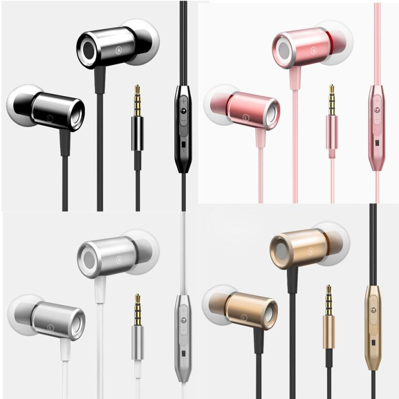 New Fashion 3.5mm In ear Stereo Headphone Headset Super Bass Music Earphone Earbuds Super Bass Headset With Mic 1.3 m