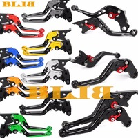 A Pair Of For Yamaha FZR600 FZR 600 R FZR600R 1989 1991 CNC Folding Extendable / 147 Short Clutch Brake Levers 8 Colors Hot Sale