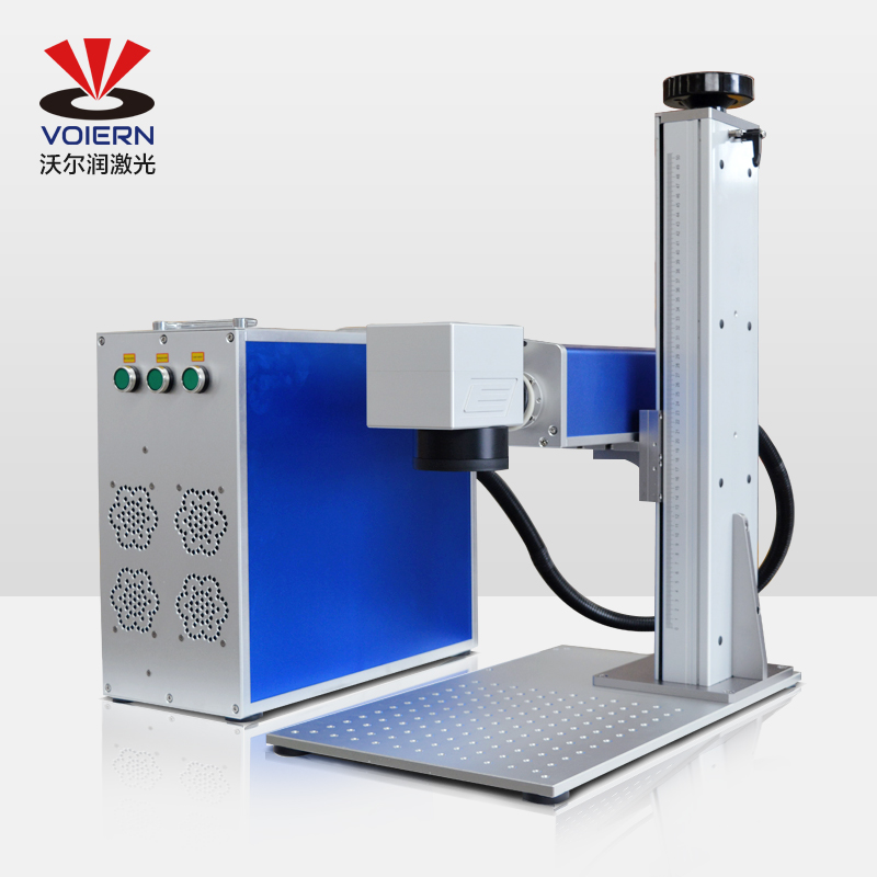free ship to Moscow!!!VOIERN-WR10W 20W 30W 50Wsplit fiber <font><b>laser</b></font> marking machine metal marking machine <font><b>laser</b></font> engraving machine image