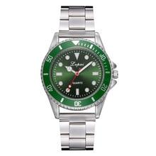 Watch Men's and Women's Watch Wholesale Sports Steel Belt Quartz Watch Bracelet Clasp Alloy Quartz Sapphire Crystal