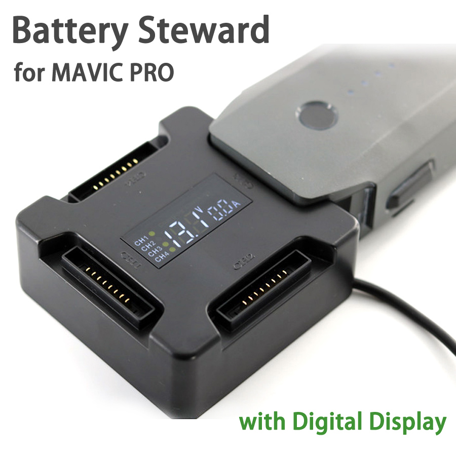 NEUER Battery Steward Parallel Charging Board Ladegerät Adapter mit - Kamera und Foto - Foto 1