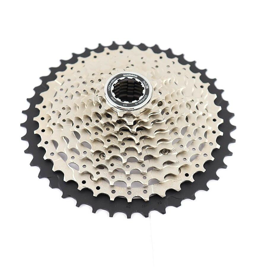 Image 2 - SHIMANO DEORE M6000 CS HG500 HG50 10 Speed Mountain Bike freewheel MTB CASSETTE SPROCKET 11 36T 11 42T bicycle Cassette-in Bicycle Freewheel from Sports & Entertainment