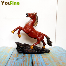 Bronze sculpture horse statue small piece desktop art ornament classical multi-color best-selling animal