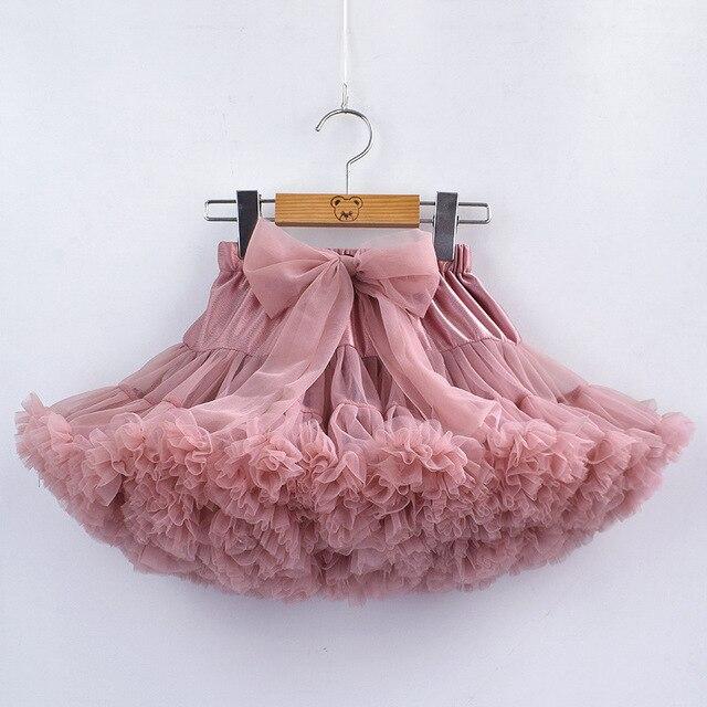 80dc0cb9c Falda tutú para bebés y niñas, falda de Ballet para niños, faldas para  niñas barato