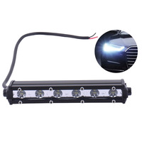 2pcs LED Bulb 18W Led Work Light Bar Motorcycle Headlight Aluminum Electric Vehicle White Lamp For