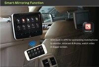 RoverOne 2 шт. X 10,1 ''Android четырехъядерный сенсорный экран подголовник автомобиля TFT ЖК монитор дисплей подголовник 1080 P мультимедиа MP5 плеер