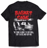 Create Your Own Shirt Short Sleeve Printing Machine O Neck Mens Basket Case Classic T Shirt