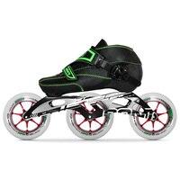 100% Оригинальные Bont эндуро 2PT Professional скорость Inline роликовые коньки для взрослых и детей для мужчин Heatmoldable загрузки 125 мм Magic колёса