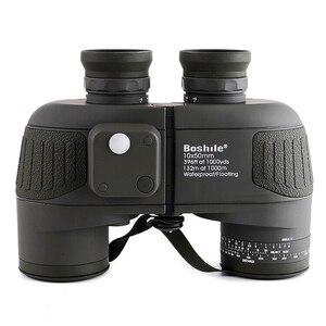 Image 5 - Boshile משקפת 10x50 ימי מקצועי משקפת עמיד למים דיגיטלי מצפן ציד טלסקופ גבוהה כוח Lll ראיית לילה