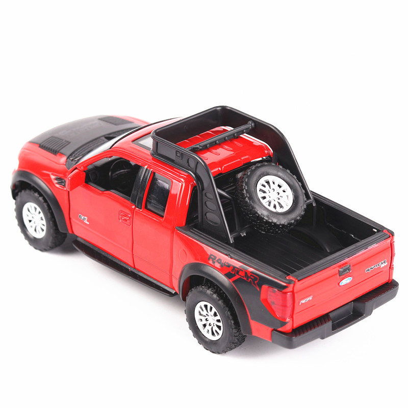Double-Horses-132-High-Simulation-Model-Toys-Car-Styling-Ford-F150-Raptor-Pickup-Trucks-Alloy-metal-Car-toys-for-children-gift-2