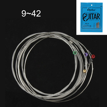 Orphee RX15 6pcs 009-042 Electric Guitar String Set Hexagonal Core Nickel Alloy Strings with Bright Tone