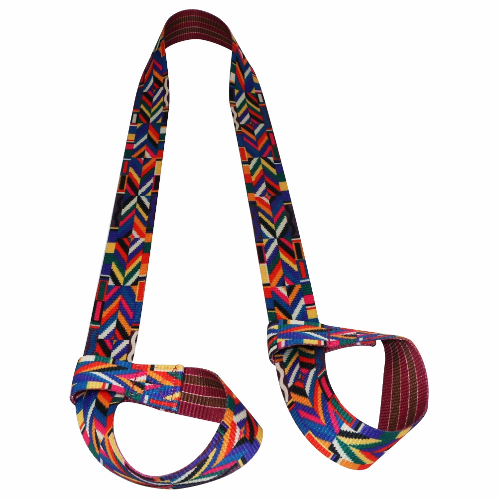 Adjustable Cotton Durable Yoga Mat Strap Sport Stretch Strap Gym Waist Leg Fitness Carrying Slings Shoulder Carry Straps