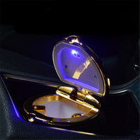Car Styling Car Cigarette Ashtray With LED Lamp For HAVAL All Model H3 H5 H6 H7