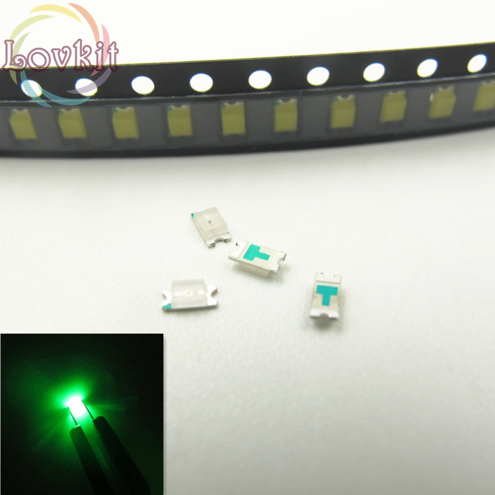 1000 pcs SMD SMT 1206 Super bright Yellow LED lamp Bulb GOOD QUALITY