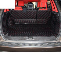 lsrtw2017 luxury fiber leather car trunk mat for Range Rover Sport L320 2005 2006 2007 2008 2009 2010 2011 2012 2013