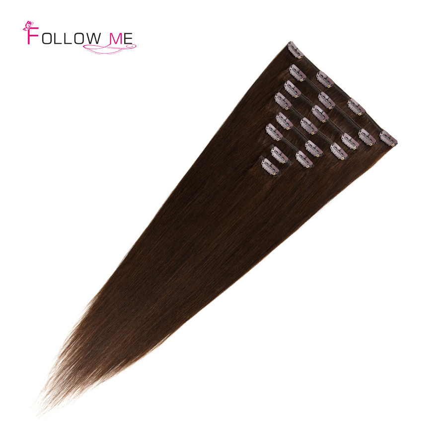 human hair clip in extensions (4)