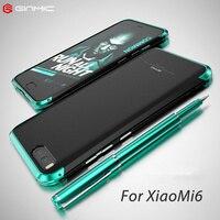 Luxury For Xiaomi Mi 6 Case 360 Full Protection 3 In 1 Aluminum Metal Bumper PC