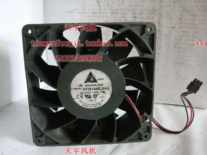 الأصلي دلتا 1.66A FFB1448SHG 48 فولت 14051 140*140*51mm ثلاثة تردد خط اضعا الكرة مروحة