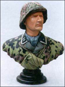 German soldiers bust