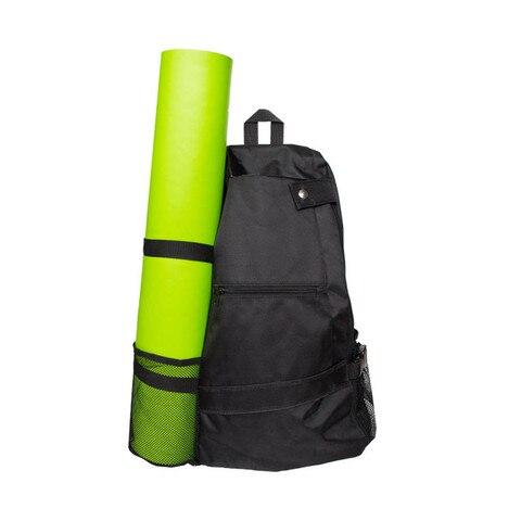 Bolsa de Ombro Mochila para Mulheres dos Homens Ginásio Único Multi-função Yoga Esteira Bolsa Esportes Fitness Mochila Viagem Almofada Case