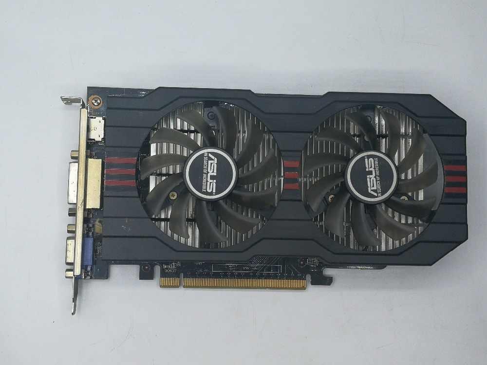 ¡Se original ASUS GTX 750 2 GB 128bit GDDR5 tarjeta gráfica HDMI DVI 100% probado bien!