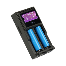 DC12V AC100~240V Smart LCD Battery Charger for 26650 18650 18500 18350 16340 14500 10440 li-ion A AA AAA SC C NIMH NICD battery цена и фото
