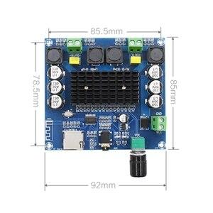 Image 3 - 2x100W Bluetooth 5.0 TDA7498 Điện kỹ thuật số bảng mạch khuếch đại Âm Thanh Stereo AMP Mô Đun Hỗ Trợ Thẻ TF AUX XH A105